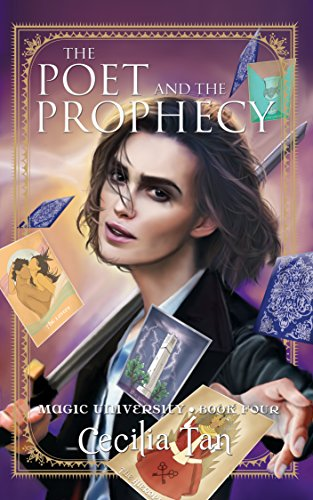 The Poet and the Prophecy by Cecilia Tan | books, reading, books covers, cover love, cards