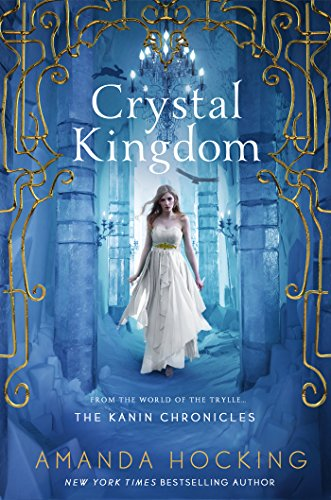 Crystal Kingdom by Amanda Hocking   reading, books, books covers, cover love, snow