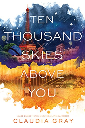Ten Thousand Skies Above You by Claudia Gray | books, reading, book covers, cover love, skylines