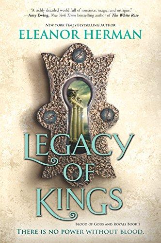 Book Cover - Legacy of Kings by Eleanor Herman