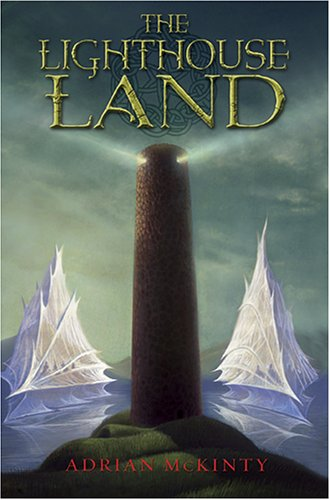 Book Cover - The Lighthouse Land by Adrian McKinty