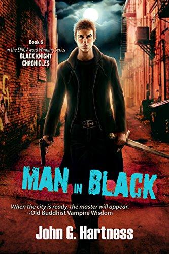 Man in Black by John G. Hartness   reading, books, book covers, cover love, vampires