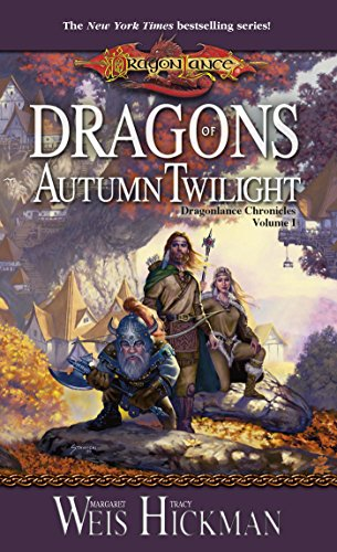 Book Cover - Dragons of Autumn Twilight by Margaret Weis & Tracy Hickman
