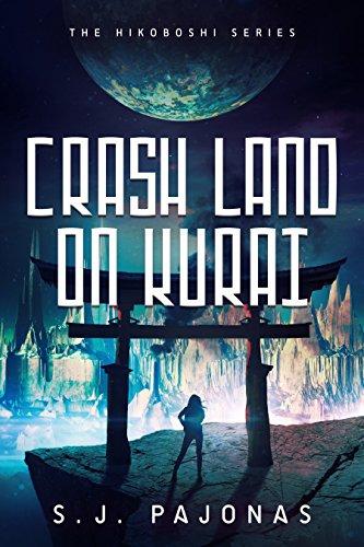 Book Cover - Crash Land on Kurai by SJ Pajonas
