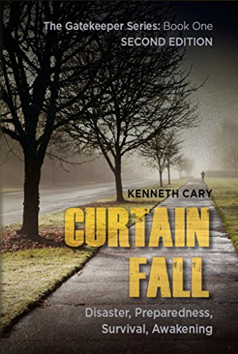 Book Cover - Curtain Fall by Kenneth Cary