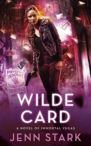 Wilde Card by Jenn Stark | books, reading, books covers, cover love, cards