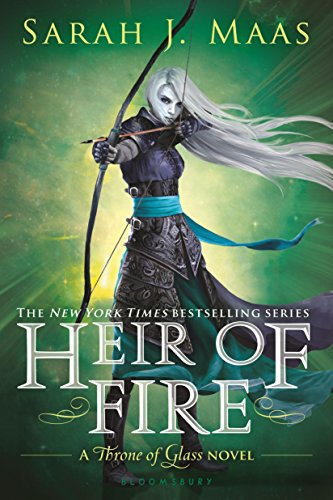 Heir of Fire by Sarah J. Maas | books, reading, book covers, cover love, arrows
