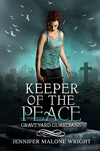 Keeper of the Peace by Jennifer Malone Wright | books, reading, book covers, cover love, cemeteries