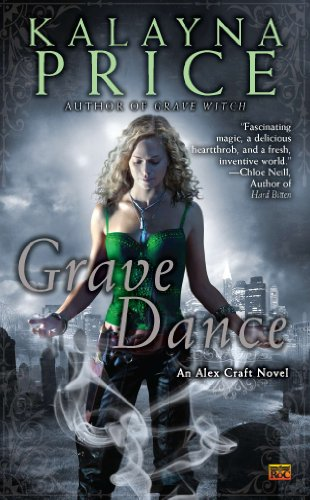 Grave Dance by Kalayna Price | books, reading, book covers, cover love, cemeteries