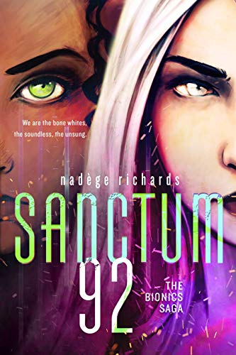 Sanctum 92 by Nadege Richards | reading, books, book covers, cover love, faces