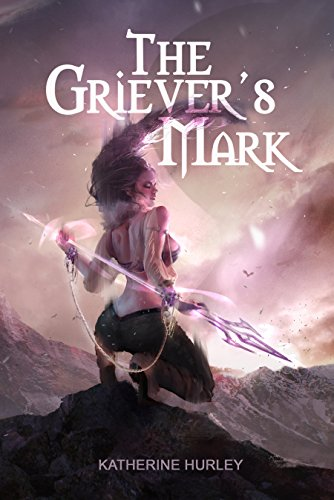The Griever's Mark by Katherine Hurley | reading, books, book covers, cover love, hair