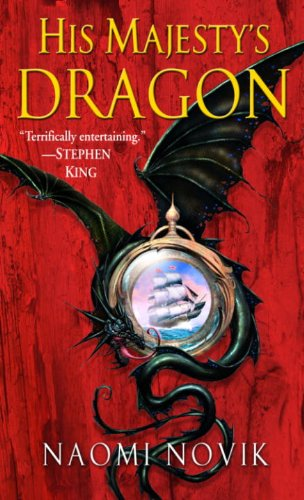 His Majesty's Dragon by Naomi Novik   books, reading, book covers, cover love, dragons