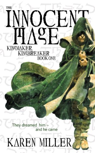 The Innocent Mage by Karen Miller | reading, books, book covers, cover love, cloaks, hoods