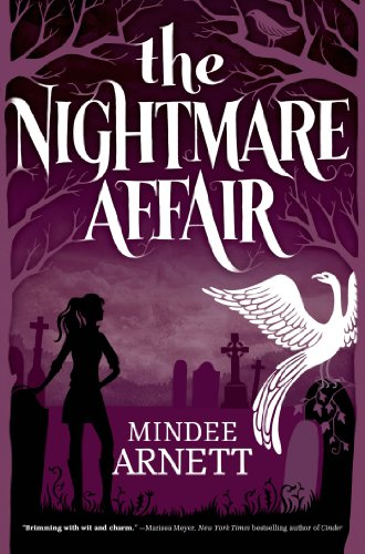The Nightmare Affair by Mindee Arnett | books, reading, book covers, cover love, sihouettes