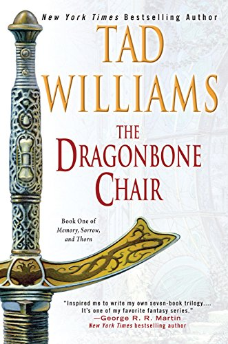 Book Cover - The Dragonbone Chair by Tad Williams