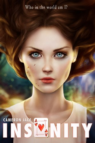Insanity by Cameron Jace | books, reading, books covers, cover love, cards