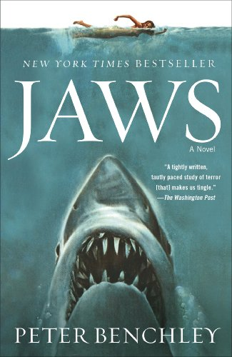 Jaws by Peter Benchley | books, reading, book covers