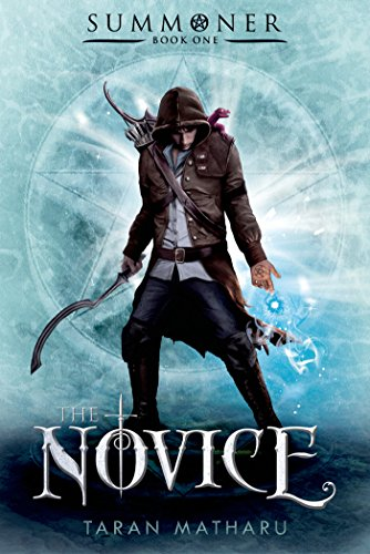 The Novice by Taran Matharu | reading, books, book covers, cover love, cloaks, hoods