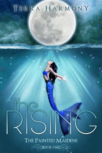 The Rising by Terra Harmony | reading, books, book covers, cover love, mermaids, mermen