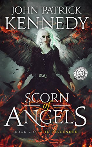 Scorn of Angels by John Patrick Kennedy | books, reading, book covers, cover love, feathers