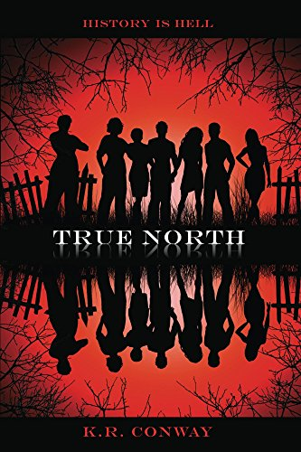 True North by K.R. Conway | books, reading, book covers, cover love, sihouettes