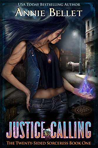 Justice Calling by Annie Bellet | books, reading, book covers