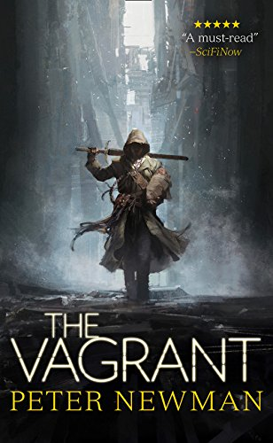 Book Cover - The Vagrant by Peter Newman