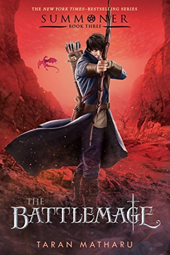 The Battlemage by Taran Matharu | reading, books, book covers, cover love, fashion