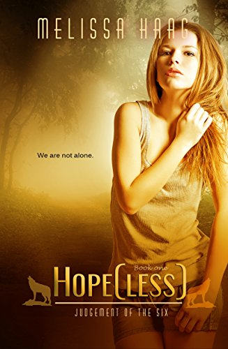 Hope(less) by Melissa Haag | books, reading, book covers