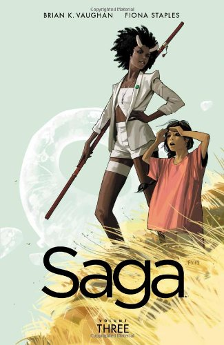 Saga Vol. 3 by Brian K. Vaughan & Fiona Staples   books, reading, book covers
