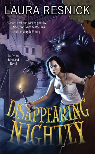 Disappearing Nightly by Laura Resnick | books, reading, book covers