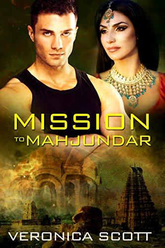 Book Cover - Mission to Mahjundar by Veronica Scott