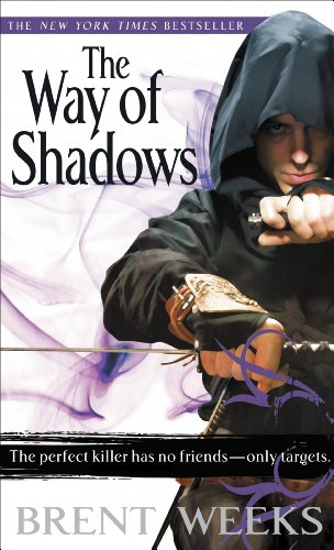 The Way of Shadows by Brent Weeks | reading, books, book covers, cover love, cloaks, hoods
