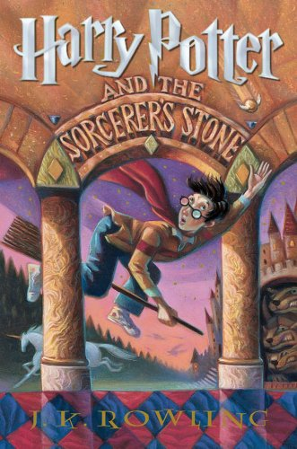 Harry Potter and Sorcerer's Stone by J.K. Rowling | books, reading, book covers