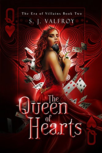 The Queen of Hearts by S.J. Valfroy | books, reading, books covers, cover love, cards