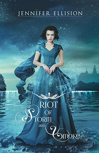 Riot of Storm and Smoke by Jennifer Ellison | books, reading, book covers