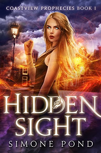 Book Cover - Hidden Sight by Simone Pond