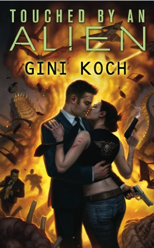 Touched by an Alien by Gini Koch | books, reading, book covers