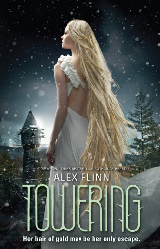 Towering by Alex Flinn | reading, books, book covers, cover love, hair