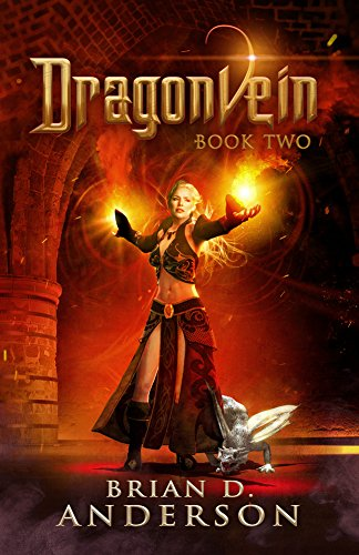 Dragonvein Book 2 by Brian D. Anderson   books, reading, book covers, cover love, dragons