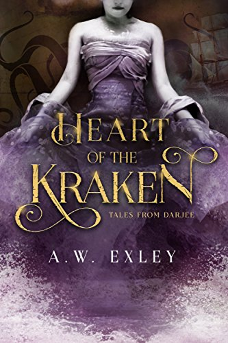 Heart of the Kraken by A.W. Exley   books, reading, book covers