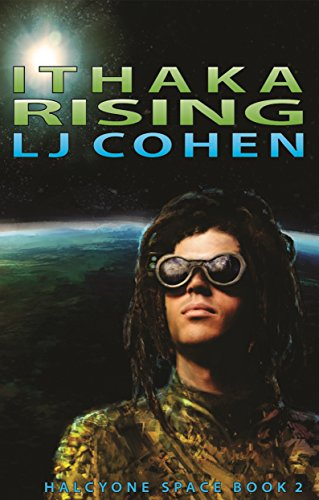 Book Cover - Ithaka Rising by LJ Cohen