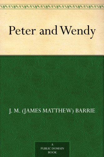 Peter and Wendy by J.M. Barrie | books, reading, book covers