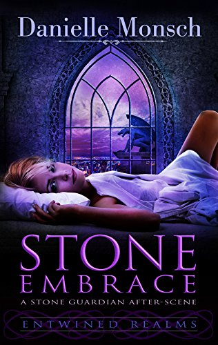 Stone Embrace by Danielle Monsch | books, reading, book covers, cover love, gargoyles