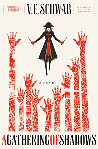 A Gathering of Shadows by V.E. Schwab   books, reading, book covers