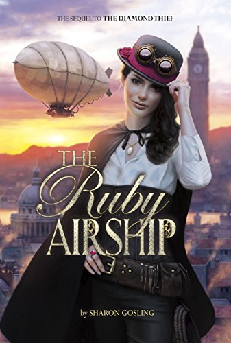 The Ruby Airship by Sharon Gosling   books, reading, book covers, cover love, jewels