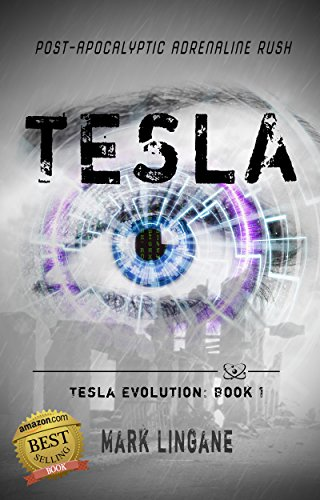 Tesla by Mark Lingane | books, reading, book covers, cover love, eyes