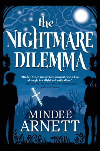 The Nightmare Dilemma by Mindee Arnett | books, reading, book covers, cover love, sihouettes