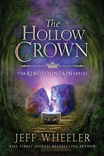 Book Cover - The Hollow Crown by Jeff Wheeler