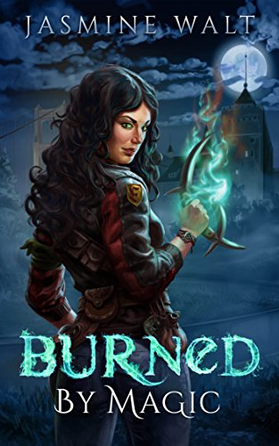 Burned by Magic by Jasmine Walt | books, reading, book covers